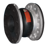 HS-60 Single Wide Open Arch, c/w Rubber Flanges & Retaining Rings