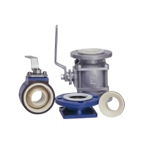 SUPER CERAMICS HS BALL VALVES, FLANGED ENDS