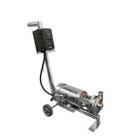 "TFC-100 Pump 3.68"" Impeller C/W Analog VFD 110/220 Vac 1 Phase C/W CART"
