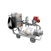 Pump Cart with Flow Meter & Control Panel