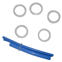 Clear Silicone Attachment Rings 50,100 pieces/per pack