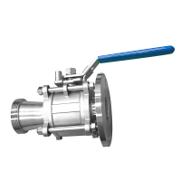 Sanitary Ball Valve Modified Custom Connections