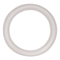 CLAMP GASKET SILICONE-CLEAR PLATINUM CURED 40RXPX