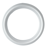 """CLAMP GASKET (PTFE) WHITE TEFLON<sup style=""""font-size:9px;"""">®</sup> 40MPG"""